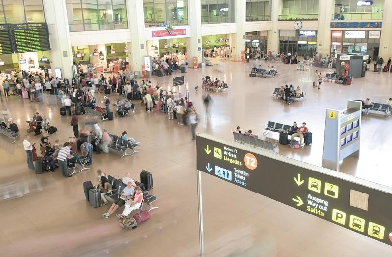 Actualidad Actualidad La llegada de pasajeros al aeropuerto de Málaga crecerá un 1,8% hasta el próximo mes de enero