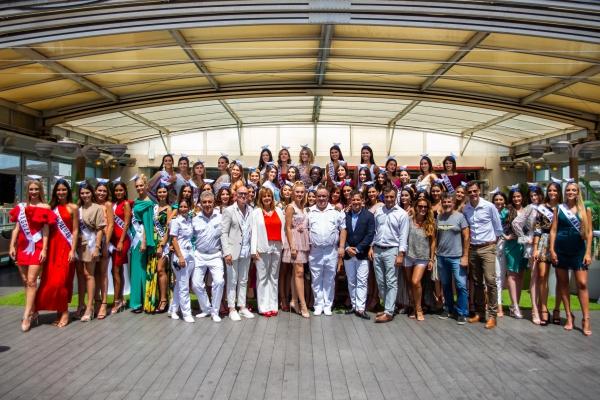 Malaga Malaga El Grupo Armas Trasmediterránea nombra 'embajadoras' de su proyecto 'Plastic Free' a las candidatas a Miss World Spain 2019