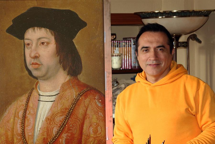 """Malaga Malaga El pintor Antonio Montiel dará vida al rey Fernando """"El Católico"""" en la Cabalgata Histórica de Málaga"""