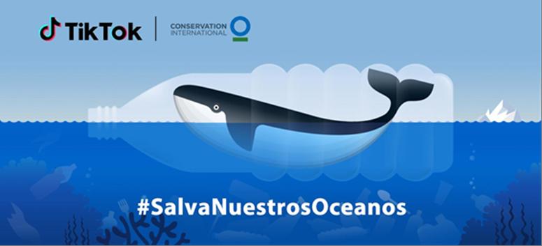 Actualidad Actualidad #SalvaNuestrosOceanos junto con TikTok y  Conservation International