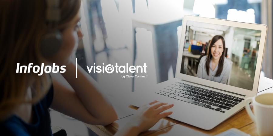 Actualidad Actualidad InfoJobs lanza un innovador servicio de videoentrevista de la mano de Visiotalent
