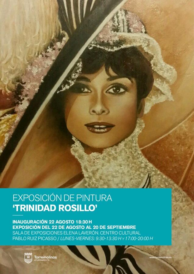 Torremolinos Torremolinos La pintora Trinidad Rosillo estrena su faceta expositora en Torremolinos