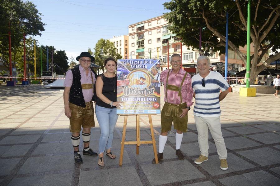 Torremolinos Torremolinos La V edición de la fiesta alemana 'Oktoberfest' arranca este jueves en Torremolinos