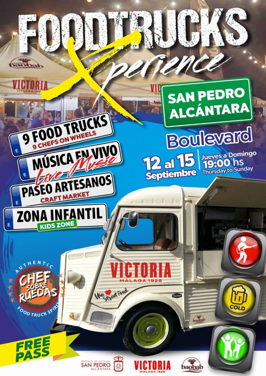 Marbella Marbella El Bulevar de San Pedro Alcántara acoge del 12 al 15 de septiembre el evento gastronómico 'Foodtrucks Xperience'
