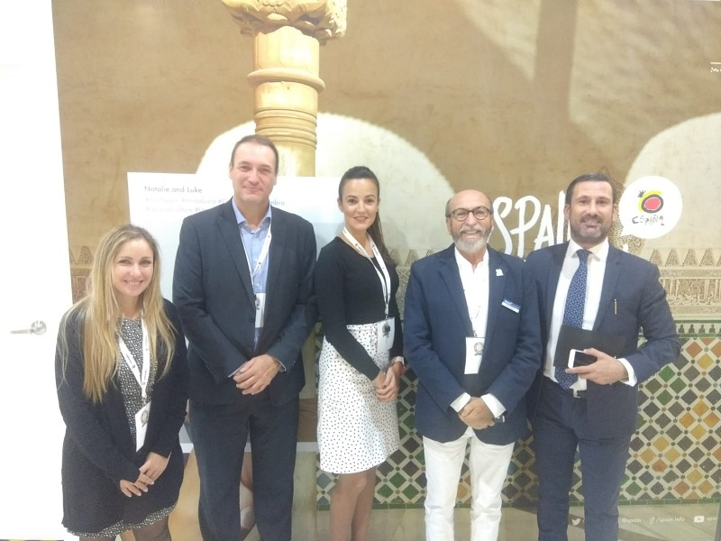 Malaga Malaga Costa del Sol promociona su oferta MICE en la feria IMEX América