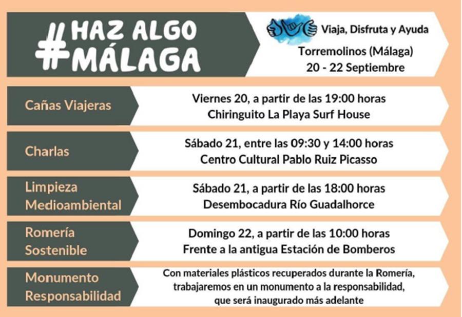 Malaga Malaga El 20 de septiembre Málaga se unirá para demostrar que somos una ciudad que actúa contra las amenazas medioambientales y sociales