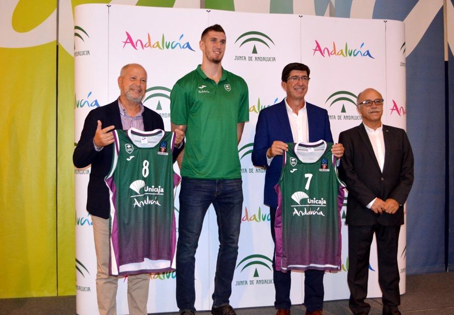 Malaga Malaga El club Unicaja Baloncesto de Málaga volverá a difundir la marca del destino Andalucía en Europa