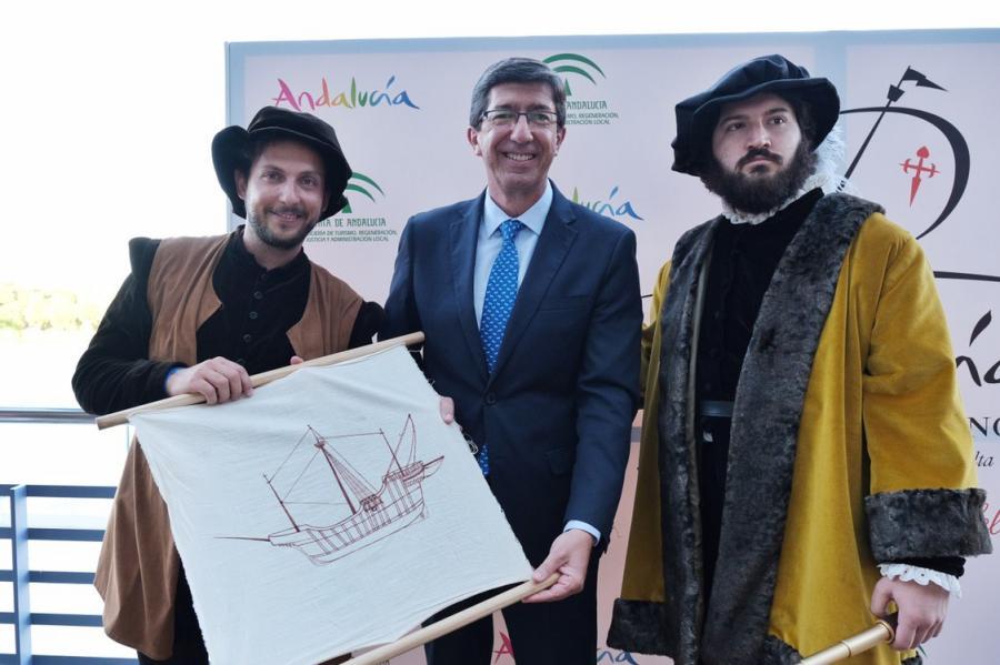 Actualidad Actualidad Juan Marín viaja a Argentina y Chile para presentar 'Andalucía, Origen y Destino' a autoridades y profesionales turísticos