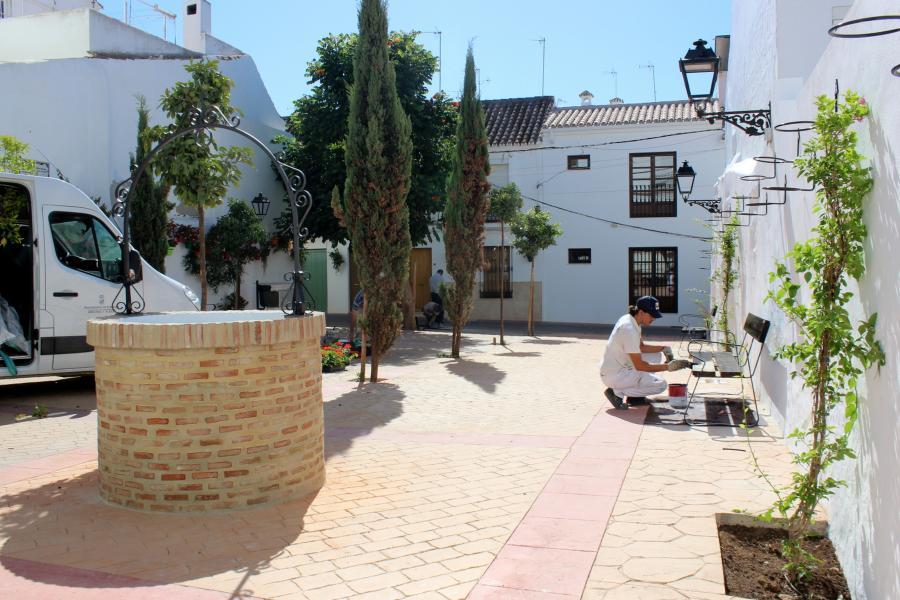 Estepona Estepona El Ayuntamiento de Estepona amplía un pasaje en el casco antiguo para conectar las calles Lozano y Extremadura