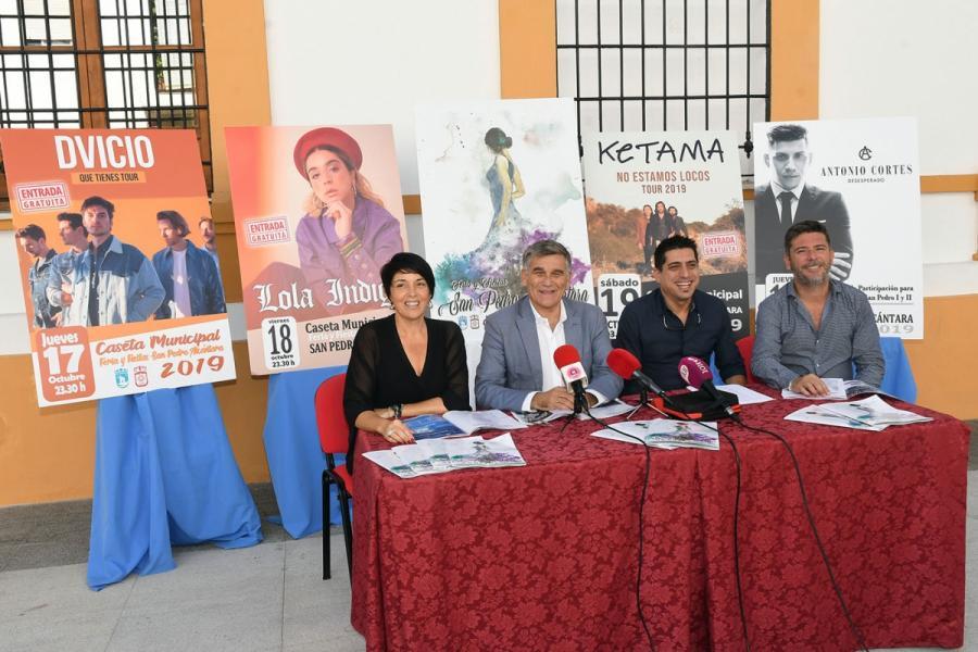 Marbella Marbella La Feria de San Pedro Alcántara 2019 contará con las actuaciones de Lola Índigo, Dvicio y Ketama