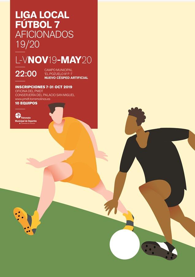 Torremolinos Torremolinos El Patronato de Deportes de Torremolinos abre el plazo de inscripción para las ligas locales de Fútbol 7, Fútbol Sala y Baloncesto