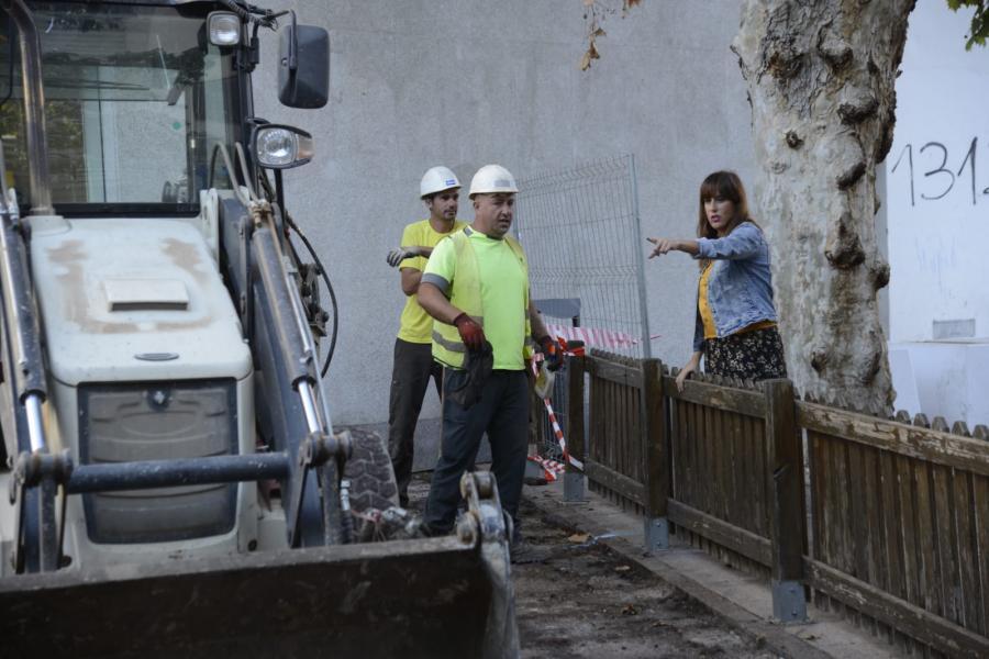 Torremolinos Torremolinos Arrancan en plaza de La Nogalera las obras de Renfe para dotar a la estación de mayor accesibilidad