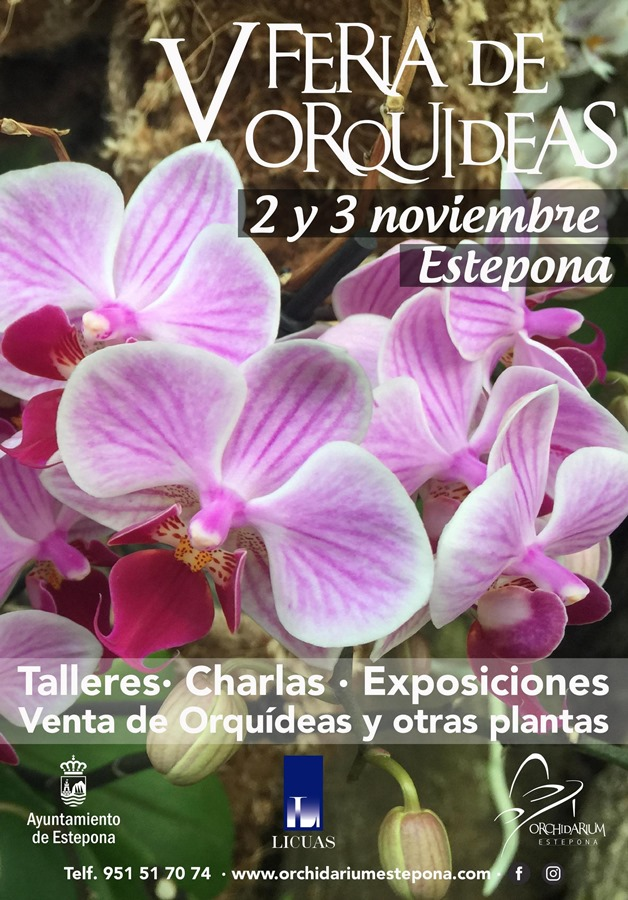 Estepona Estepona El Parque Botánico Orquidario de Estepona acoge la celebración de la V Feria de Orquídeas