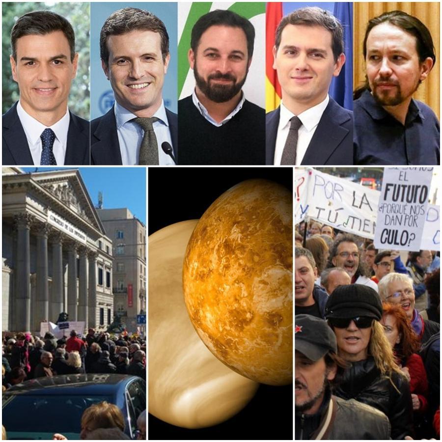 """Actualidad Actualidad El drama del cisma social en España: """"Los políticos son de Marte y los ciudadanos de a pie de Venus"""""""