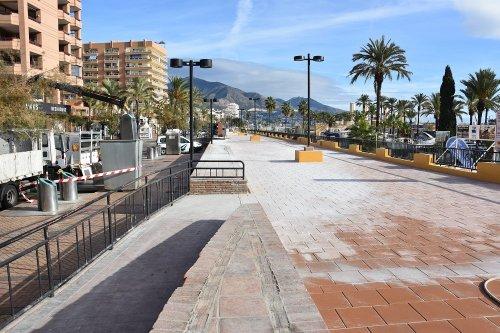 Fuengirola Fuengirola Finalizan los trabajos de renovación de las cubiertas de los locales del Puerto Deportivo