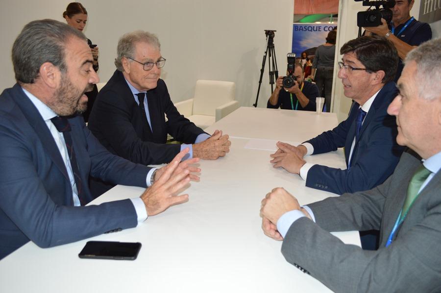 Actualidad Actualidad Juan Marín marca como objetivo que el turismo británico en Andalucía crezca un 2% en 2020