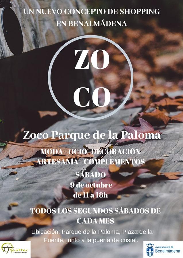 Benalmadena Benalmadena El zoco del Parque de la Paloma de Benalmádena celebrará su tercera edición el próximo sábado 9 de noviembre