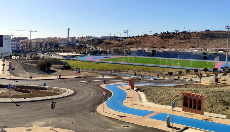 Estepona Estepona El Ayuntamiento de Estepona alcanzará más de 8 kilómetros de carril bici con el nuevo tramo de la ronda norte