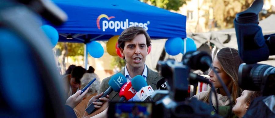 """Malaga Malaga Montesinos: """"Sánchez es un riesgo para la economía, hay que concentrar el voto en el PP"""""""
