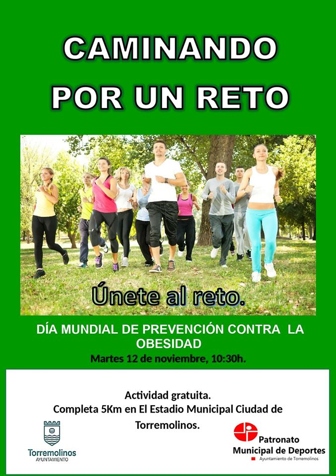 Torremolinos Torremolinos Torremolinos conmemora el Día Mundial contra la Obesidad 'Caminando por un Reto'