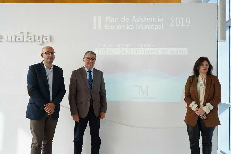 Malaga Malaga La Diputación lanza una nueva inyección económica de 14,9 millones de euros a todos los municipios de la provincia