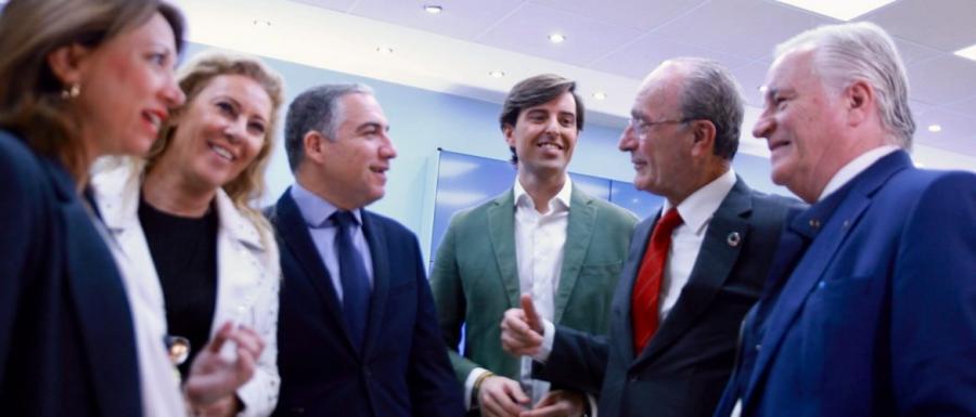 """Malaga Malaga Bendodo: """"Votar al PP hará que la revolución de Andalucía se extienda al resto de España"""""""