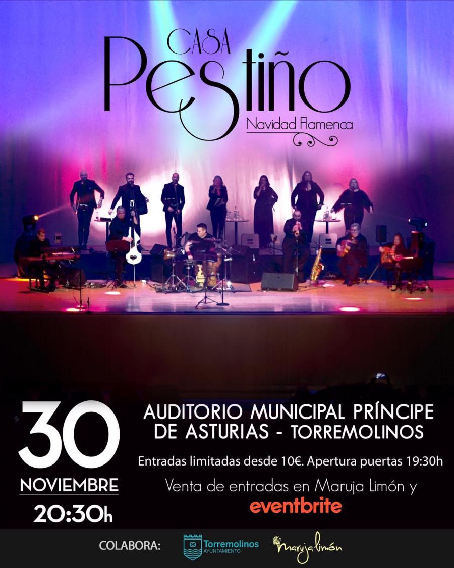 Torremolinos Torremolinos Los villancicos empezarán a sonar en Torremolinos con la Navidad Flamenca de 'Casa Pestiño'