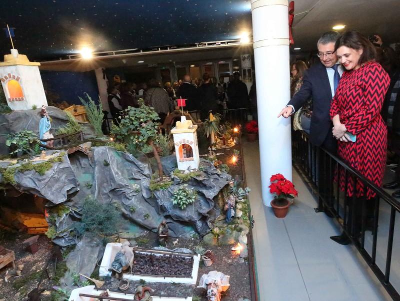 Malaga Malaga La Diputación recibe a la Navidad con la inauguración de un gran belén interactivo y actividades para todos los públicos