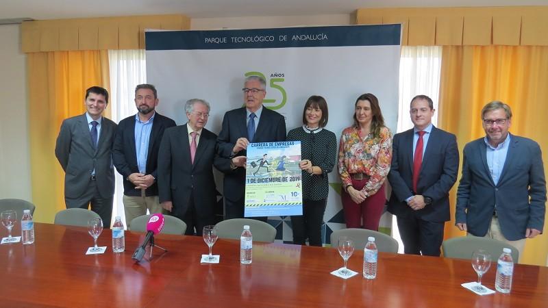 Malaga Malaga La Diputación de Málaga colabora con la segunda Carrera Solidaria de Empresas contra el Cáncer