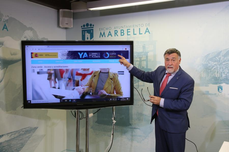 Marbella Marbella Marbella presentará mañana en la Cumbre Mundial del Clima dos proyectos de eficiencia energética y sostenibilidad