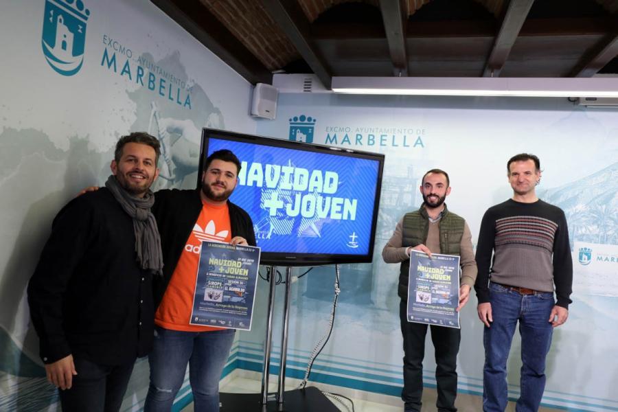 Marbella Marbella La iniciativa 'Navidad+Joven' tendrá lugar el 21 de diciembre en el Parque Arroyo de la Represa y combinará música y solidaridad a beneficio de Sarah Almagro
