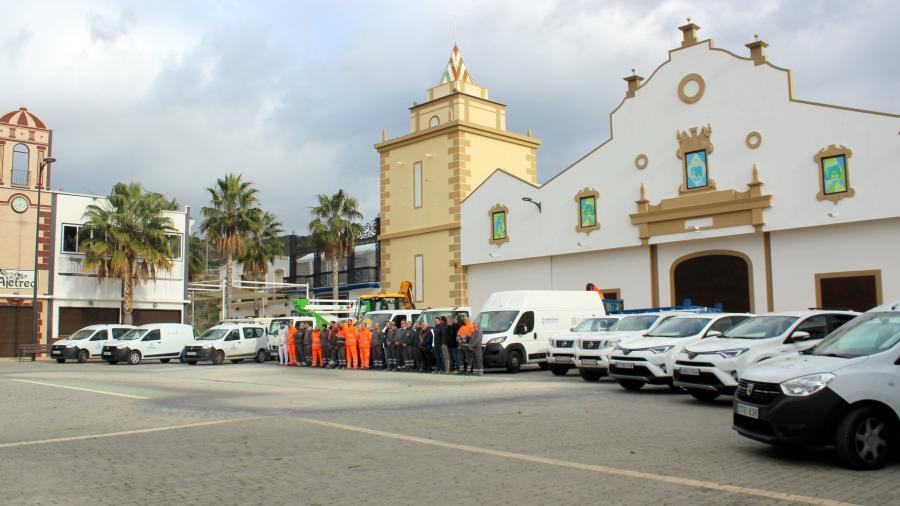 Estepona Estepona El Ayuntamiento de Estepona amplía la flota de brigadas operativas con 16 nuevos vehículos