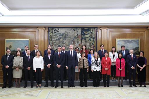 Actualidad Actualidad El Gobierno de Sánchez al completo promete lealtad al Rey y guardar y hacer guardar la Constitución