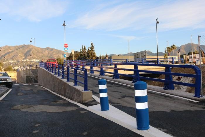 Mijas Mijas El puente de El Lagarejo de Mijas abre al tráfico para vehículos y peatones