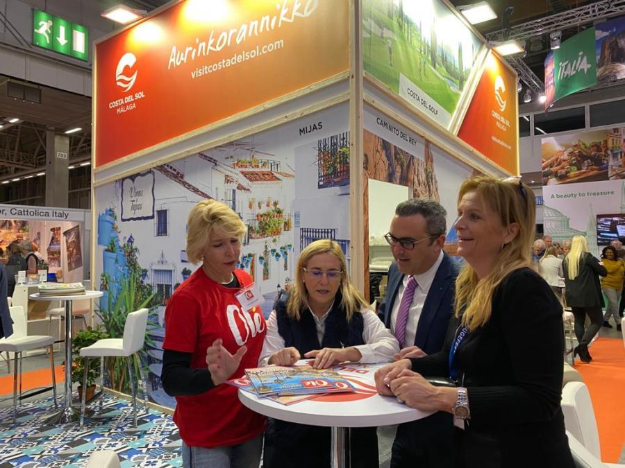 Fuengirola Fuengirola El Ayuntamiento de Fuengirola afianza su posición de liderazgo turístico en el mercado finlandés