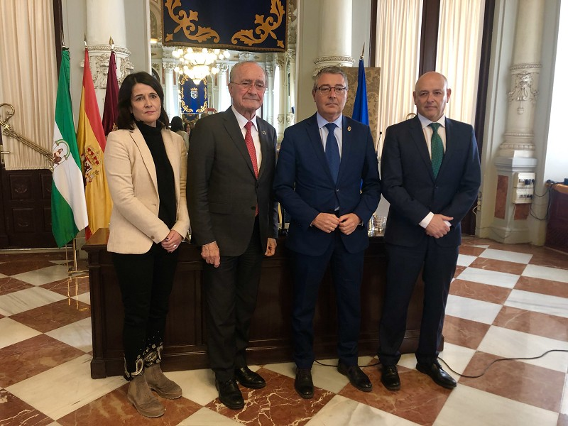 Malaga Malaga Málaga promocionará su oferta turística en Londres en sinergia con la Royal Academy of Arts
