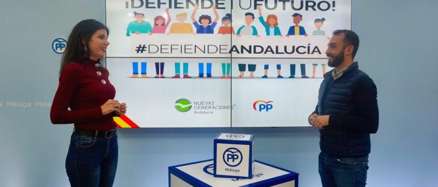 Malaga Malaga NNGG vigilará que el Gobierno de Sánchez no boicotee las políticas de Juventud de la Junta
