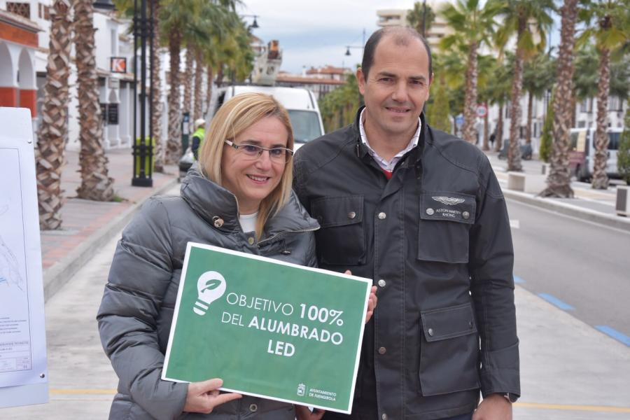 Fuengirola Fuengirola Fuengirola implantará tecnología LED en el 100% de su alumbrado público para incrementar la eficiencia energética y reducir a la mitad las emisiones de CO2