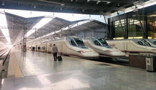 Malaga Malaga El número de viajeros del AVE Madrid-Málaga aumenta un 1,9 por ciento en 2019, con 2,5 millones de usuarios