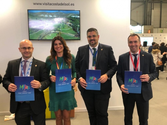 Turismo Hoteles Mijas se presenta en Fitur 2020 con una nueva campaña promocional dirigida al turismo deportivo y de golf