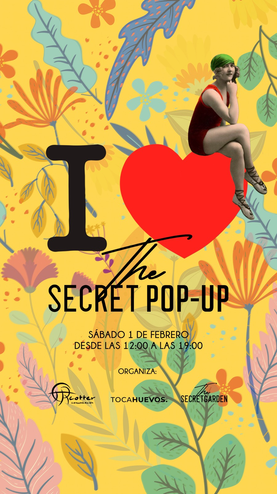 Malaga Malaga La próxima edición del pop up The Secret Garden se celebrará el próximo sábado 1 de febrero
