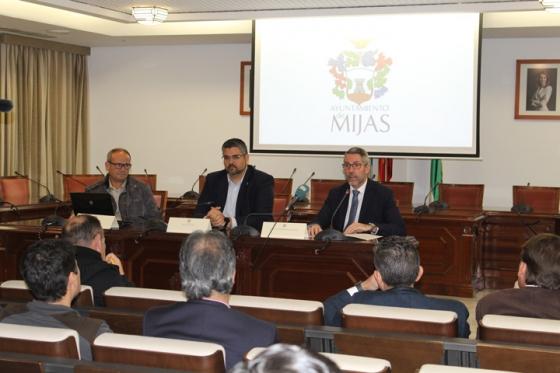 Mijas Mijas Mijas acoge la presentación por parte de Diputación de dos herramientas digitales para la gestión de los ayuntamientos