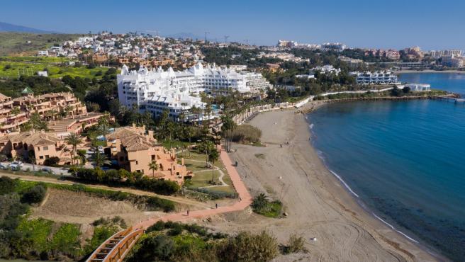 Estepona Estepona Concluyen las obras del corredor litoral en la zona del arroyo Guadalobón