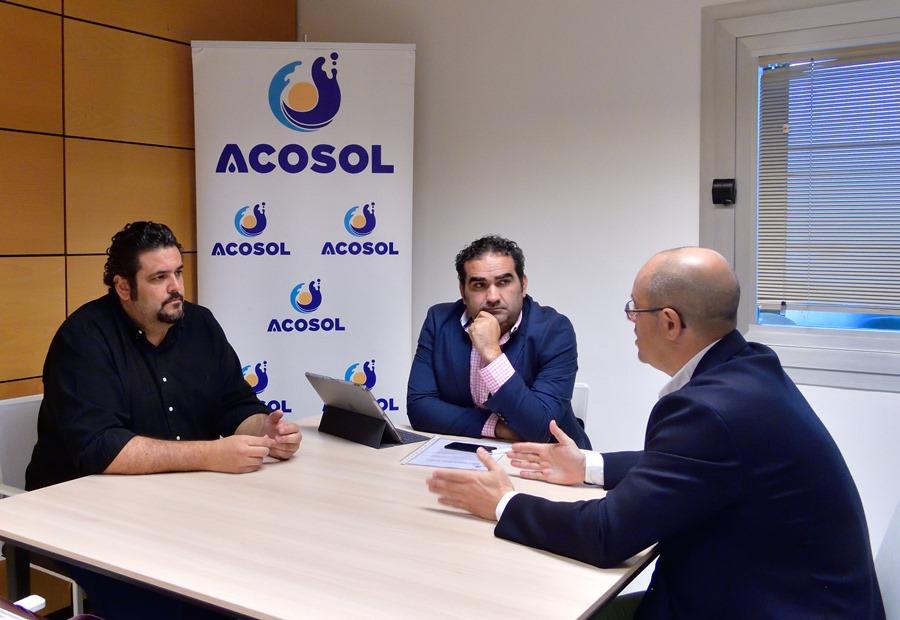 Mancomunidad Mancomunidad Acosol se reúne con la Asociación Española de Gerentes de Golf para trabajar en nuevos proyectos y la adhesión al proyecto del Sello de Calidad que lidera la empresa de aguas costasoleña