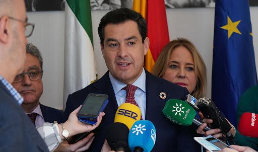 Actualidad Actualidad Moreno inicia contactos con el BEI para un ambicioso paquete de infraestructuras hídricas en Andalucía