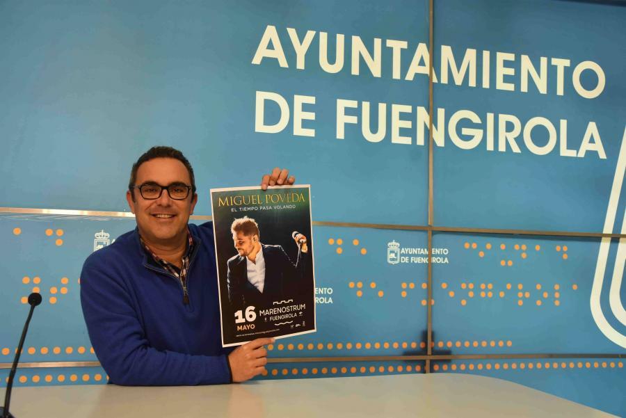 Fuengirola Fuengirola Hoy salen a la venta las entradas del concierto que Miguel Poveda ofrecerá en Fuengirola el próximo 16 de mayo