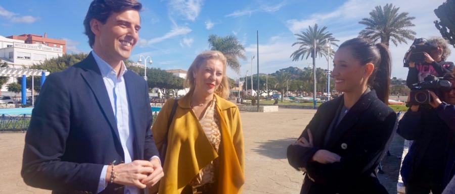 Malaga Malaga El PP presenta una batería de preguntas ante el no del Gobierno a los paseos marítimos de Málaga