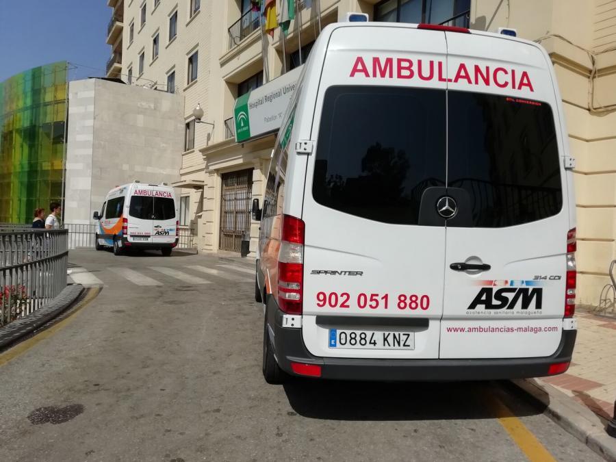 Actualidad Actualidad CSIF denuncia la falta de medidas de protección para trabajadores y pacientes durante los traslados en ambulancia en Málaga