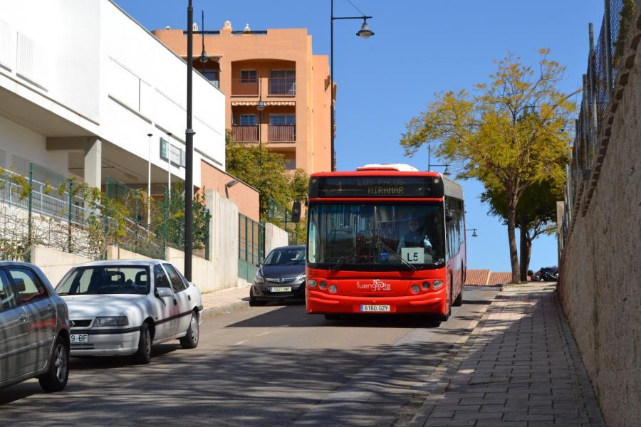 Fuengirola Fuengirola El Ayuntamiento de Fuengirola reduce desde el día 23 de marzo la frecuencia de paso de sus autobuses urbanos