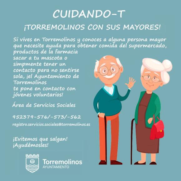 Torremolinos Torremolinos Torremolinos impulsa un red de voluntariado para ayudar a personas mayores y evitar que éstas salgan a la calle